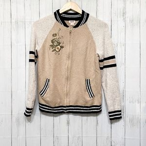 Mossimo Supply Co Varsity Style Sweater - S